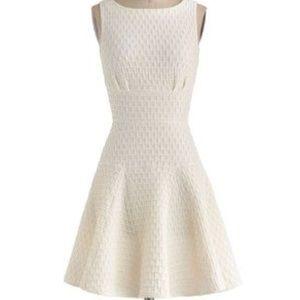 Modcloth The Perfect Thatch Dress, UK 10/US 6